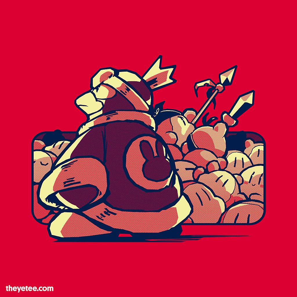 The Yetee: Save the King