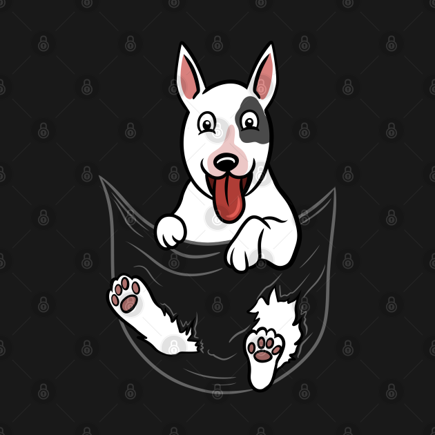 TeePublic: English Bull Terrier Pocket Graphic