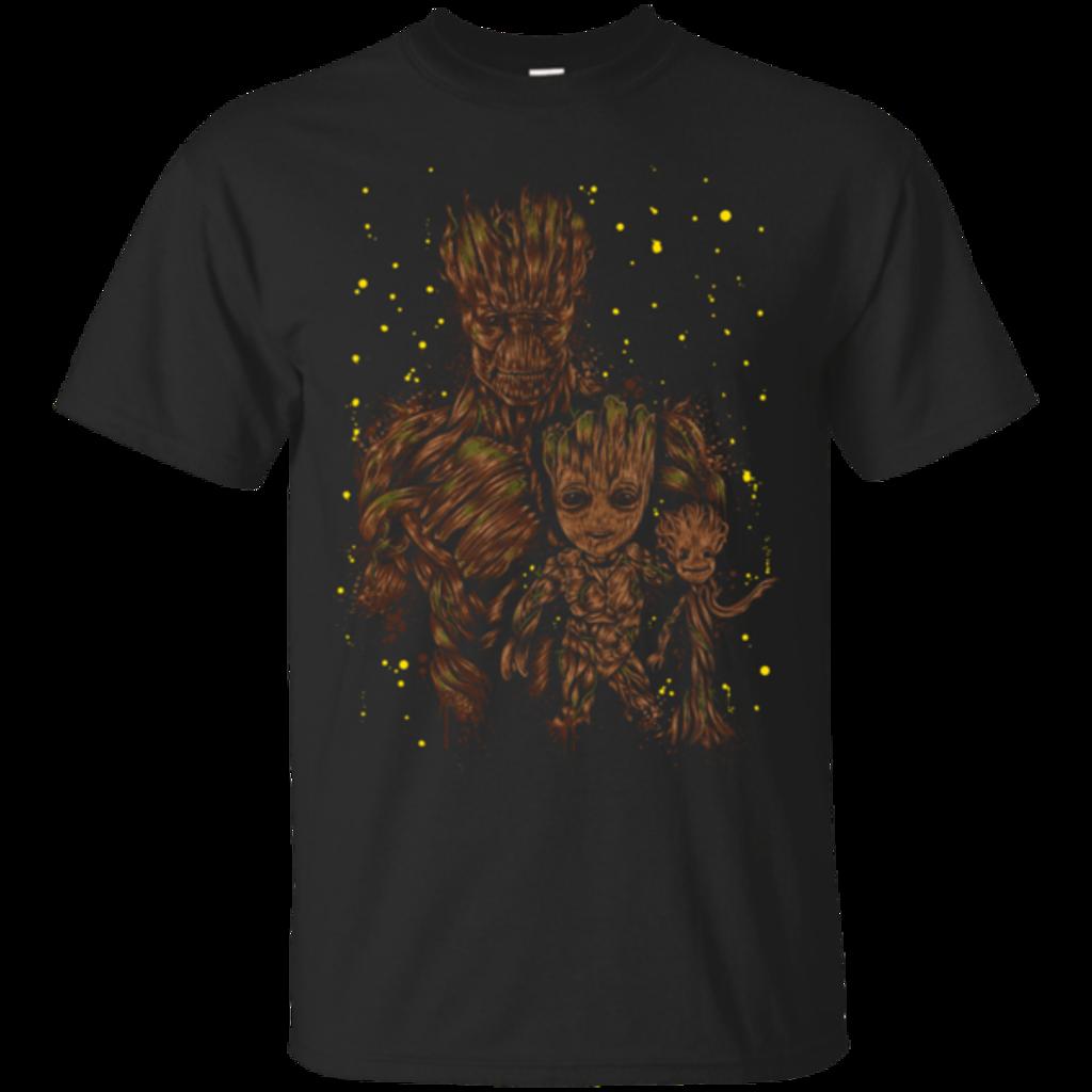 Pop-Up Tee: The evolution of Groot