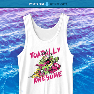 The Yetee: Toadally Tank