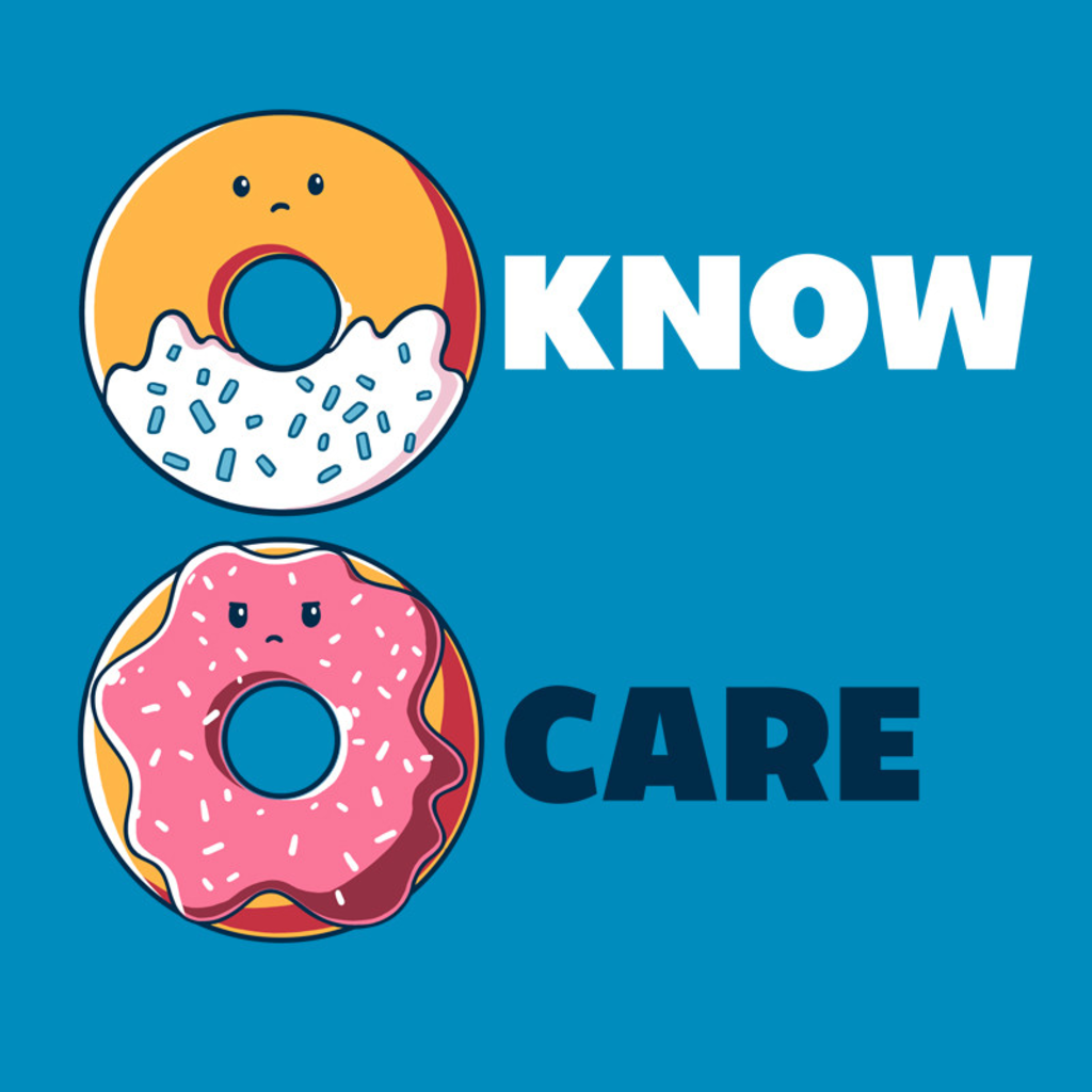 TeeTurtle: Donut Know, Donut Care