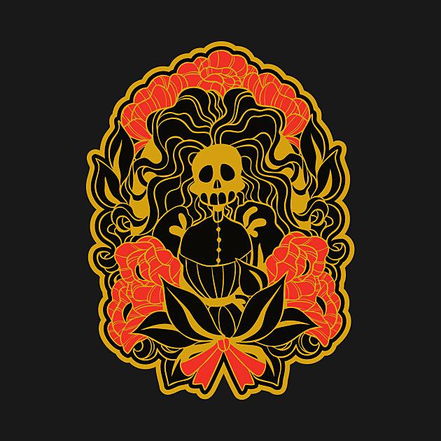 TeePublic: Mourning Wreath