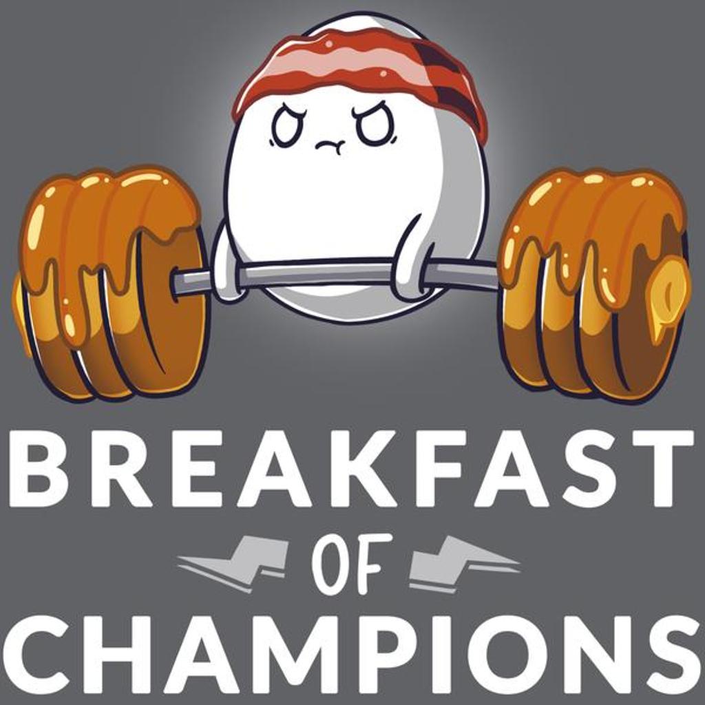 TeeTurtle: Breakfast of Champs