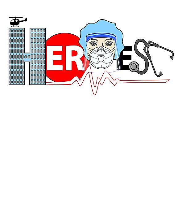 RedBubble: Medical Heroes Fem