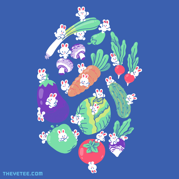 The Yetee: Eat Your Veggies
