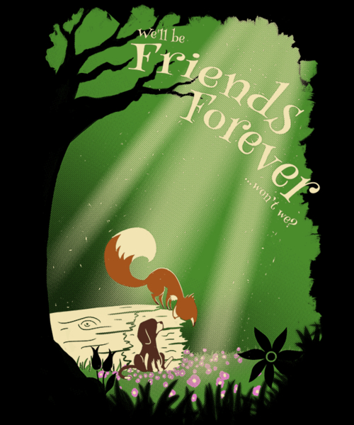 Qwertee: Friends Forever