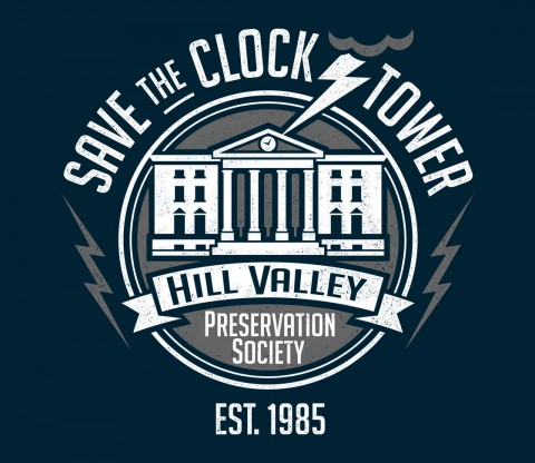 TeeFury: Hill Valley Preservation Society