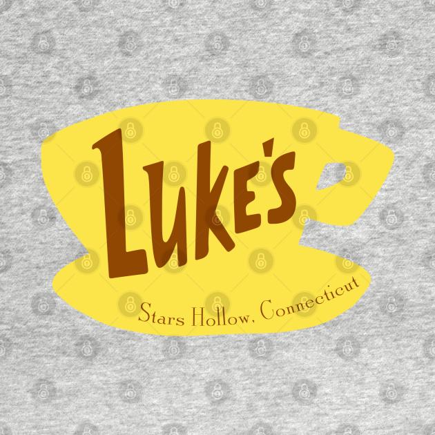 TeePublic: Luke's Diner - Stars Hollow - Gilmore Girls