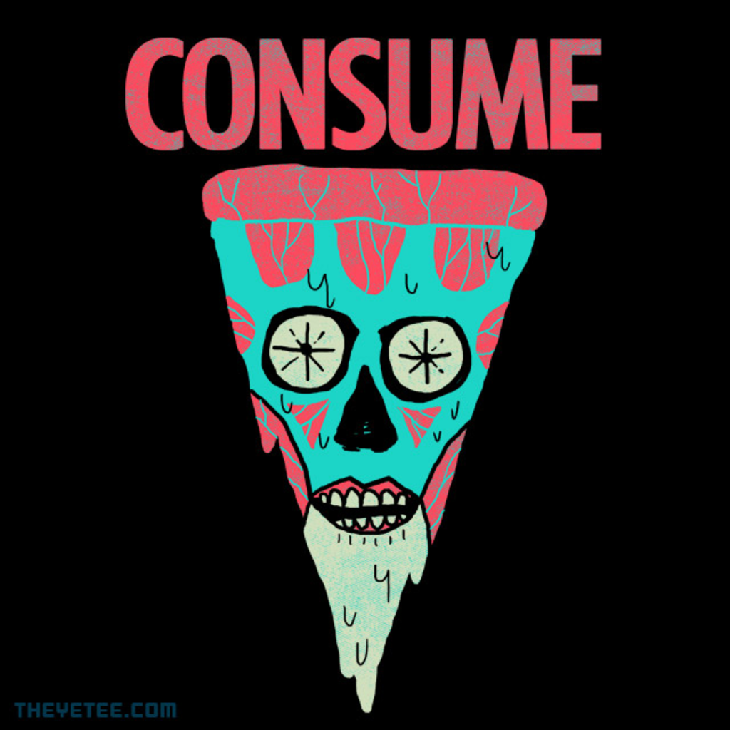 The Yetee: Consume Pizza