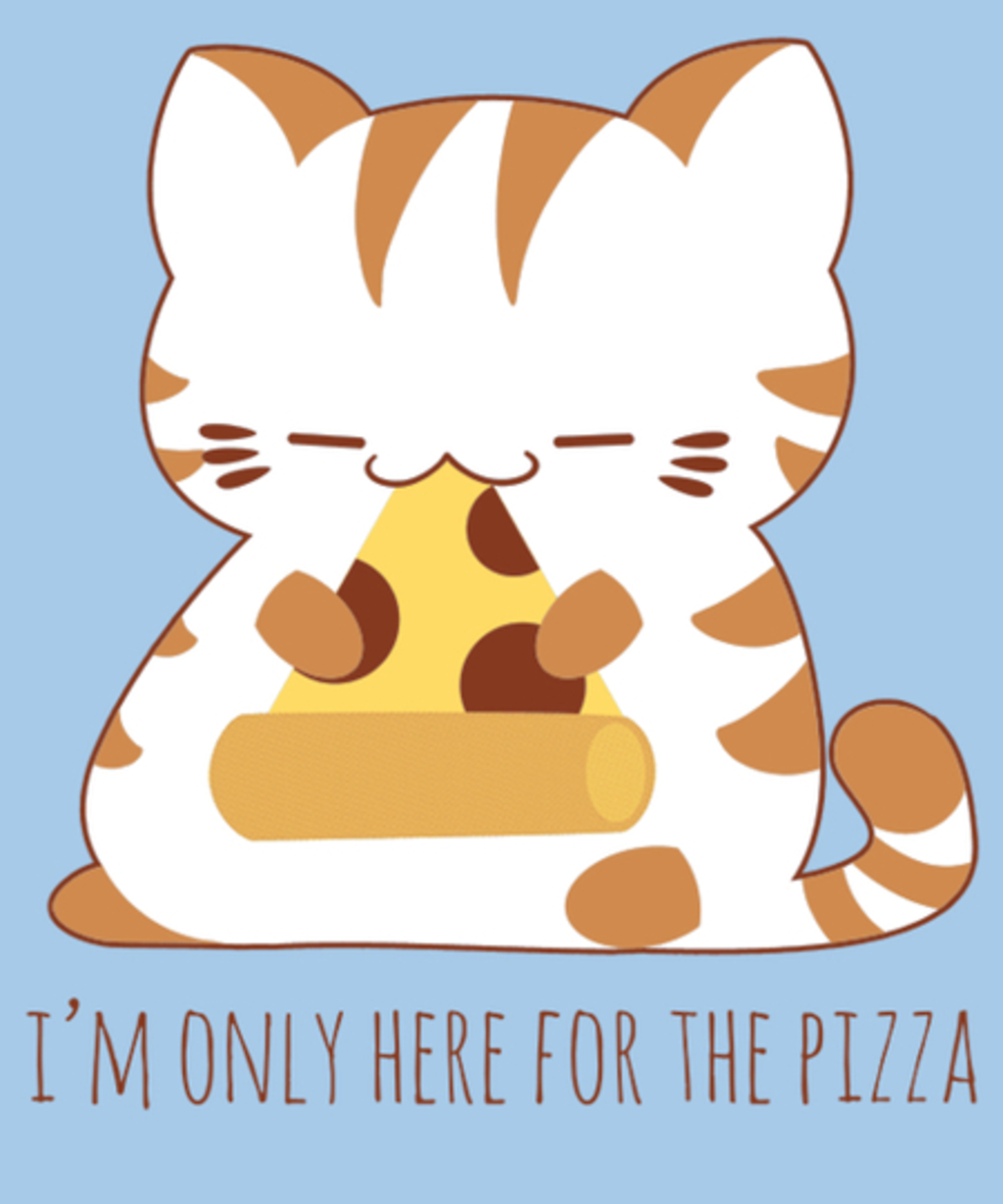 Qwertee: Pizza Cat of Truth