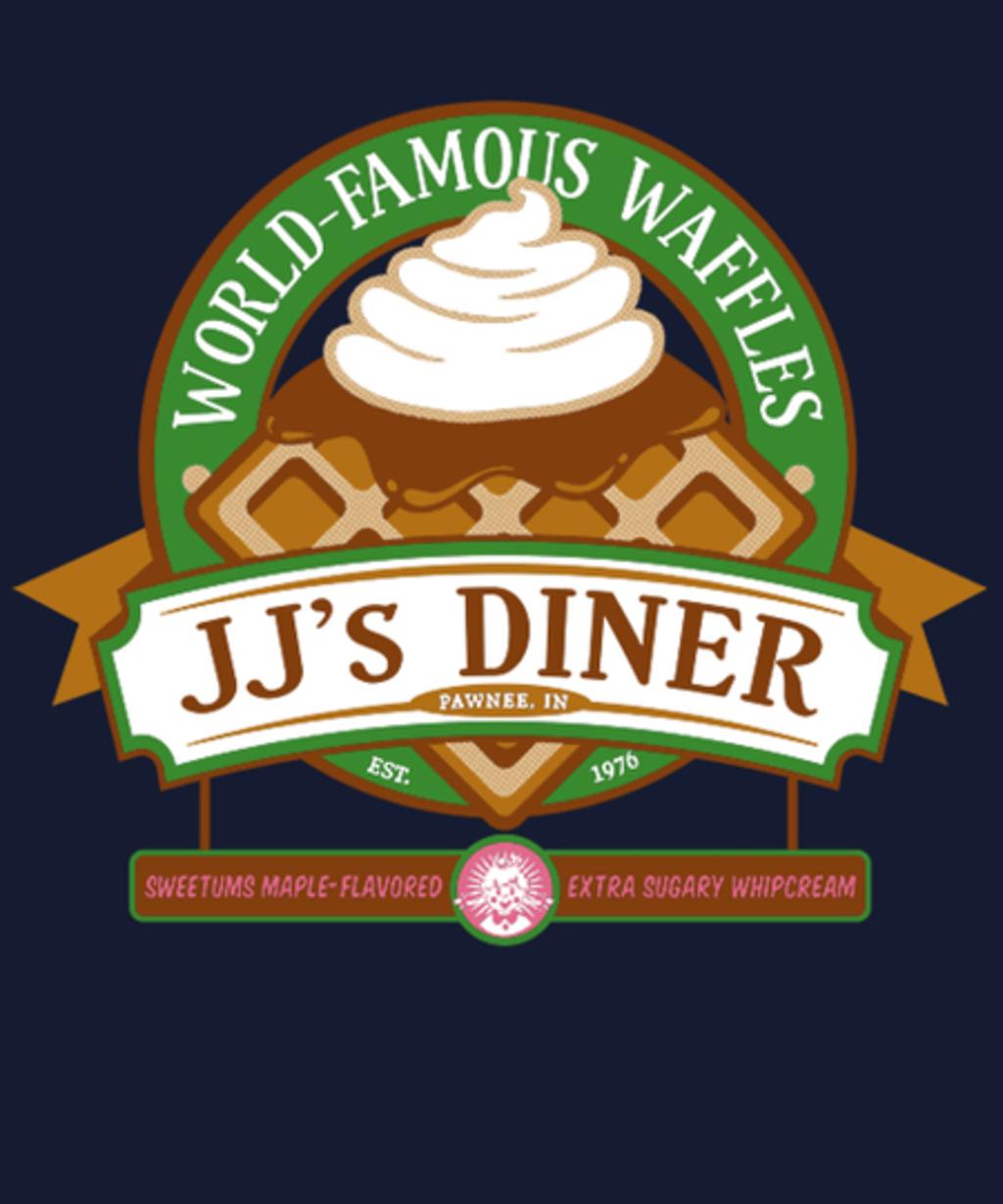 Qwertee: JJ's Diner