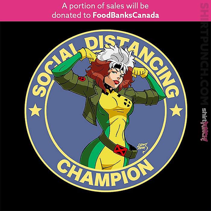 ShirtPunch: Rogue Social Distancing Champion