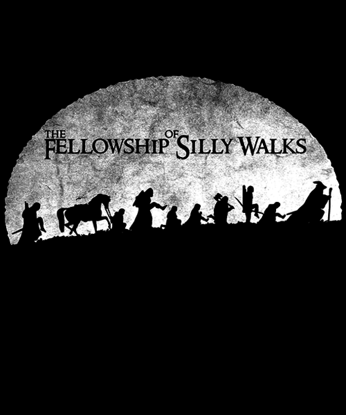 Qwertee: The Fellowship of Silly Walks