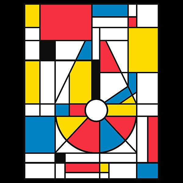 NeatoShop: Mondrian Falcon