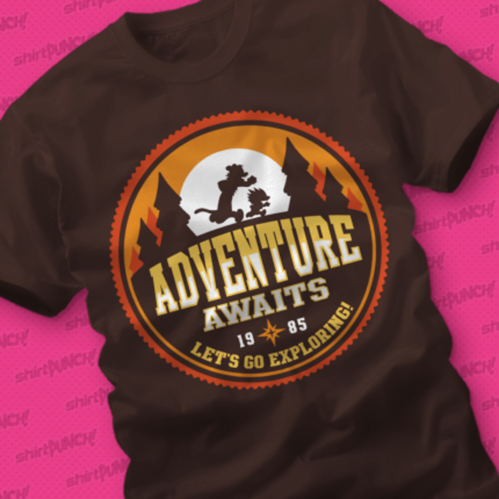 ShirtPunch: Let's Go Exploring!