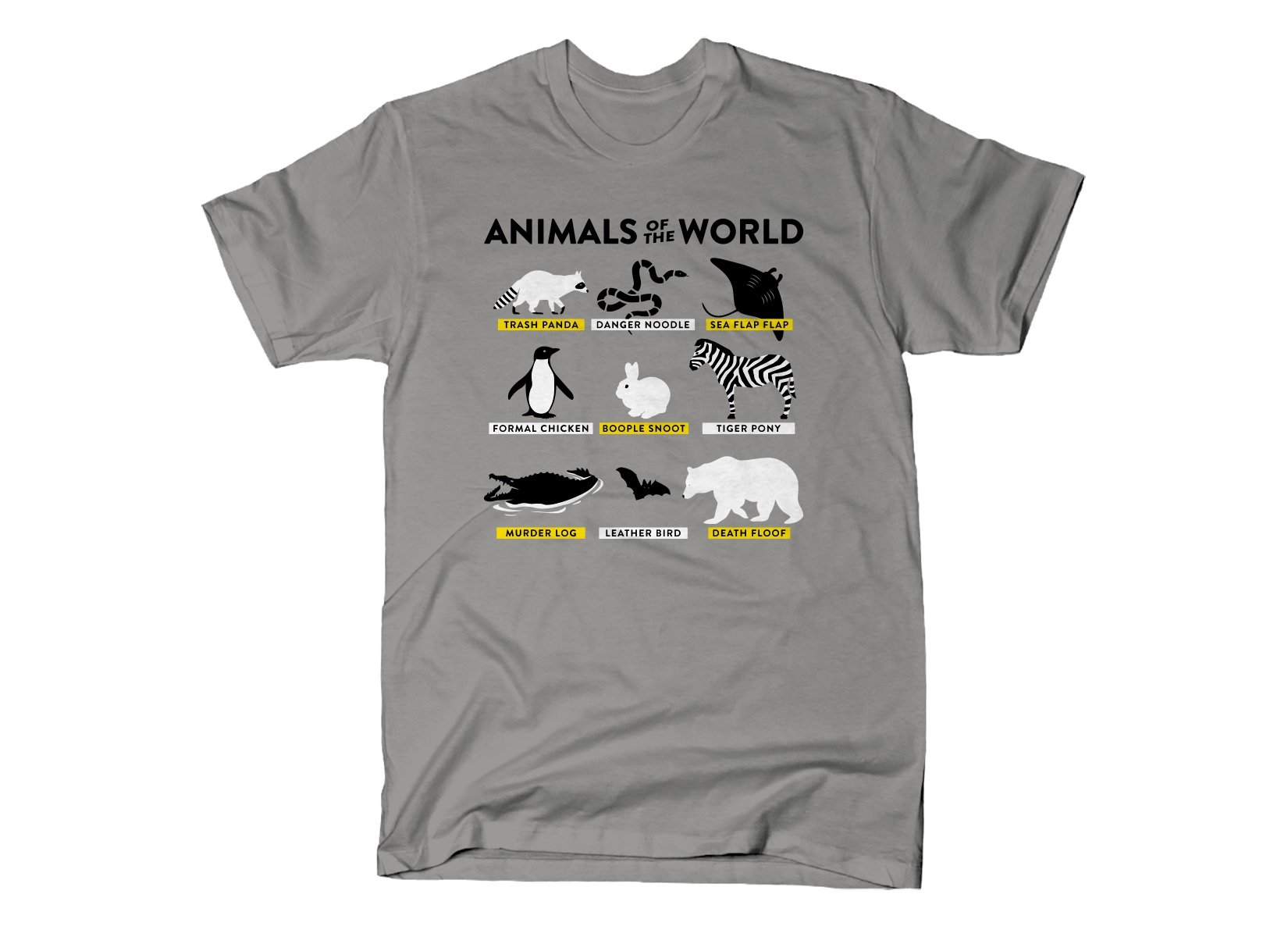 SnorgTees: Animals Of The World
