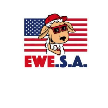 BustedTees: Independence Day Ewe S A