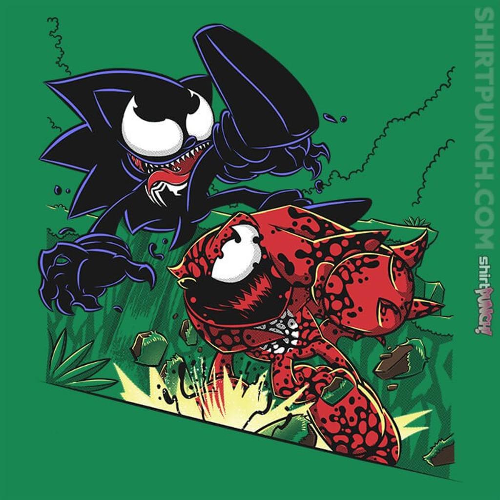 ShirtPunch: Echidna vs. Hedgehog