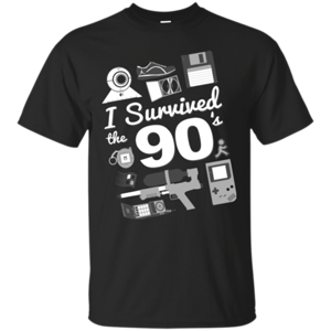 Pop-Up Tee: I Survived the 90s