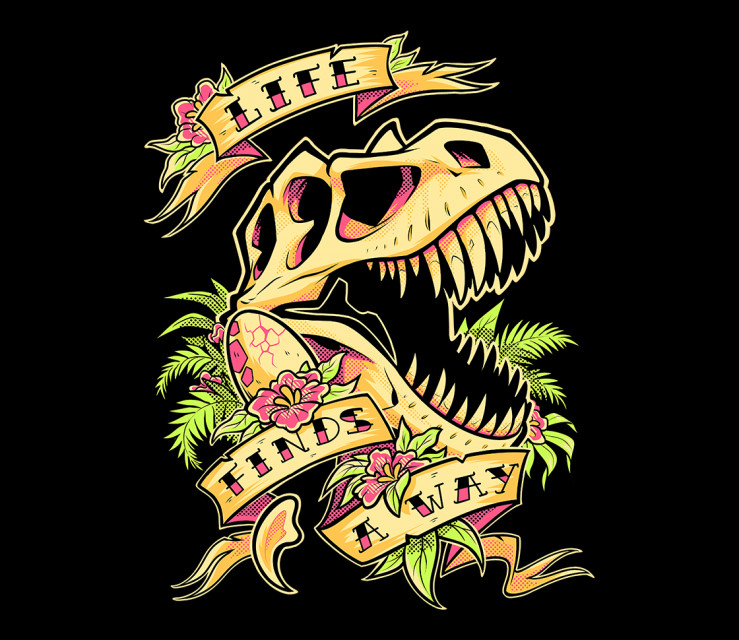 TeeFury: Life Finds A Way