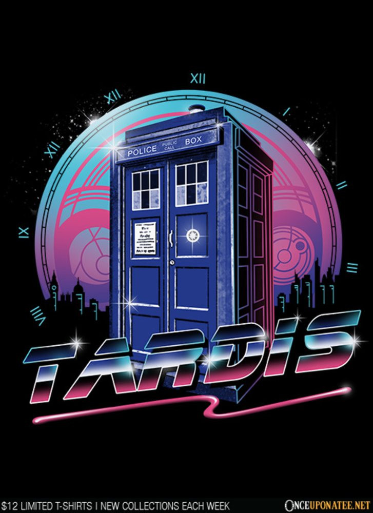 Once Upon a Tee: Rad Tardis