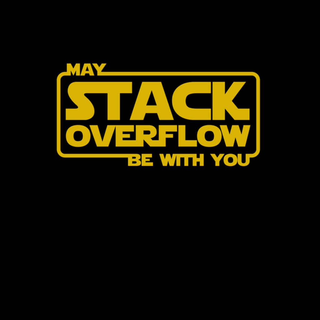 NeatoShop: Stack Overflow with you