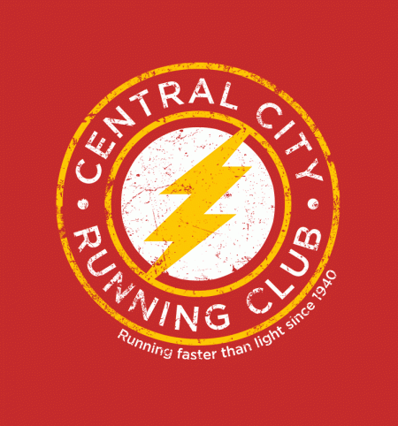 BustedTees: Central City Running Club