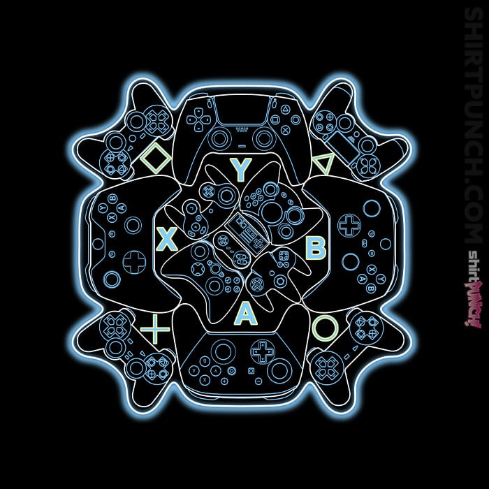 ShirtPunch: Gamer Mandala