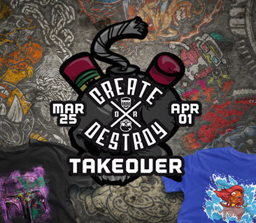 TeeFury: CoD Designs Takeover Collection