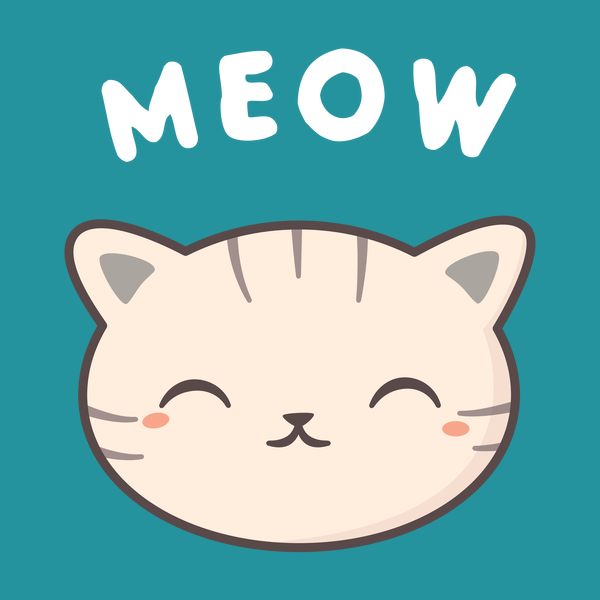 NeatoShop: Happy Kawaii Cute Meow Cat