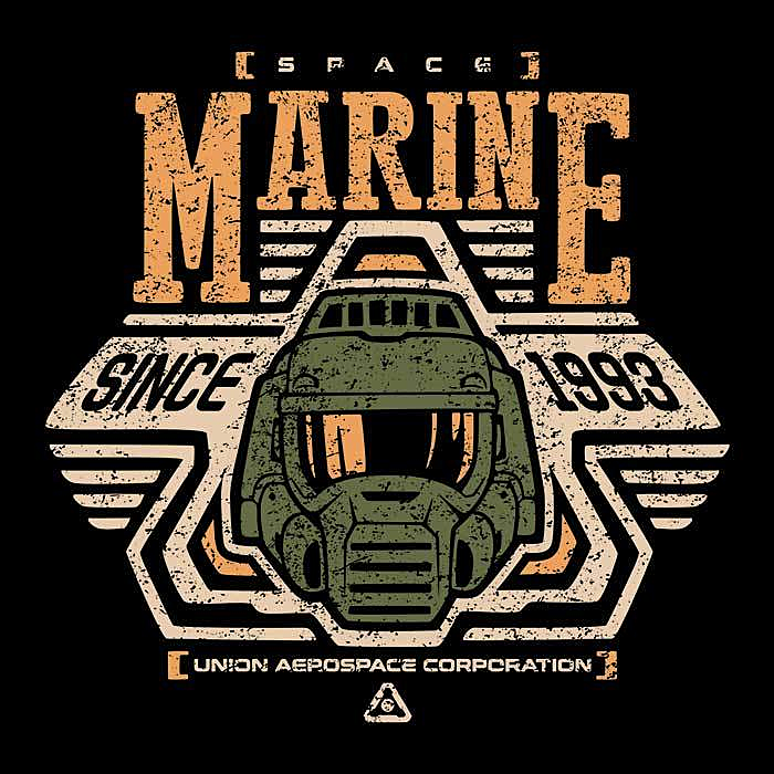 Once Upon a Tee: Space Marine