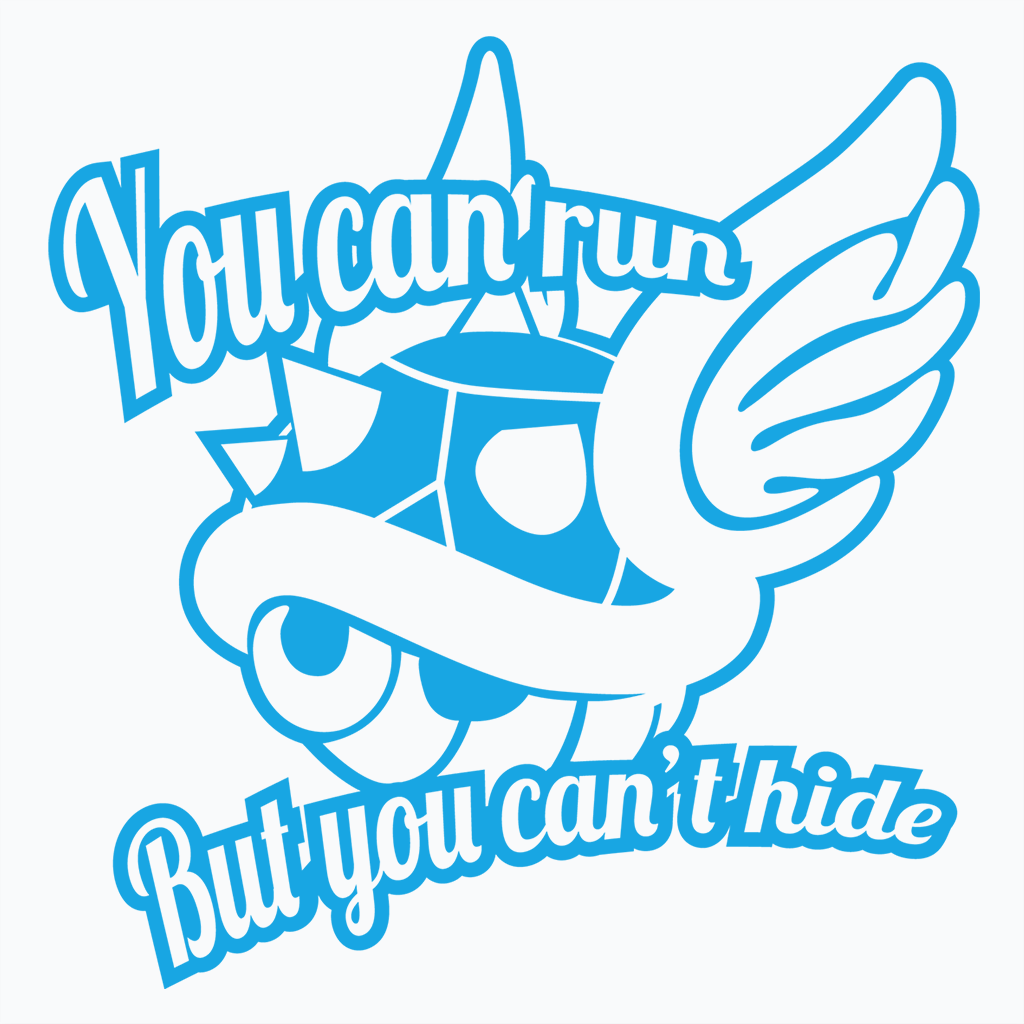 Pop-Up Tee: You Can Run