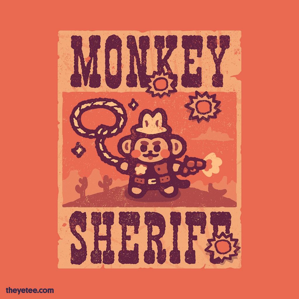 The Yetee: Monkey Sheriff