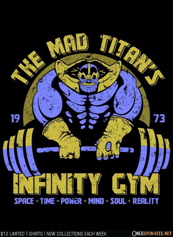 Once Upon a Tee: Infinity Gym