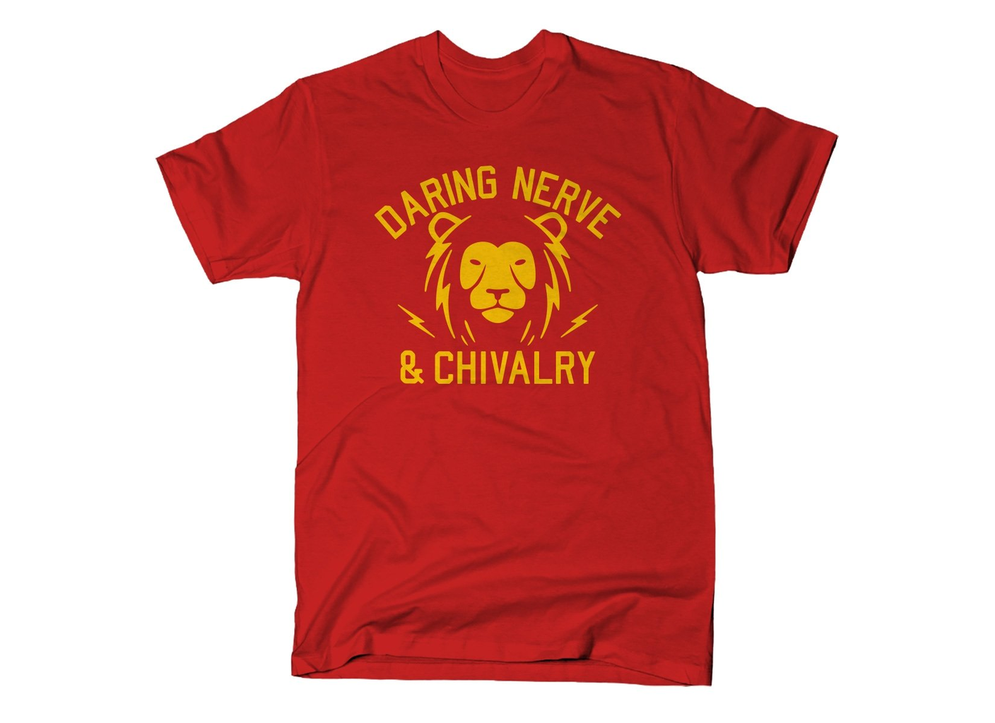 SnorgTees: Daring, Nerve, And Chivalry