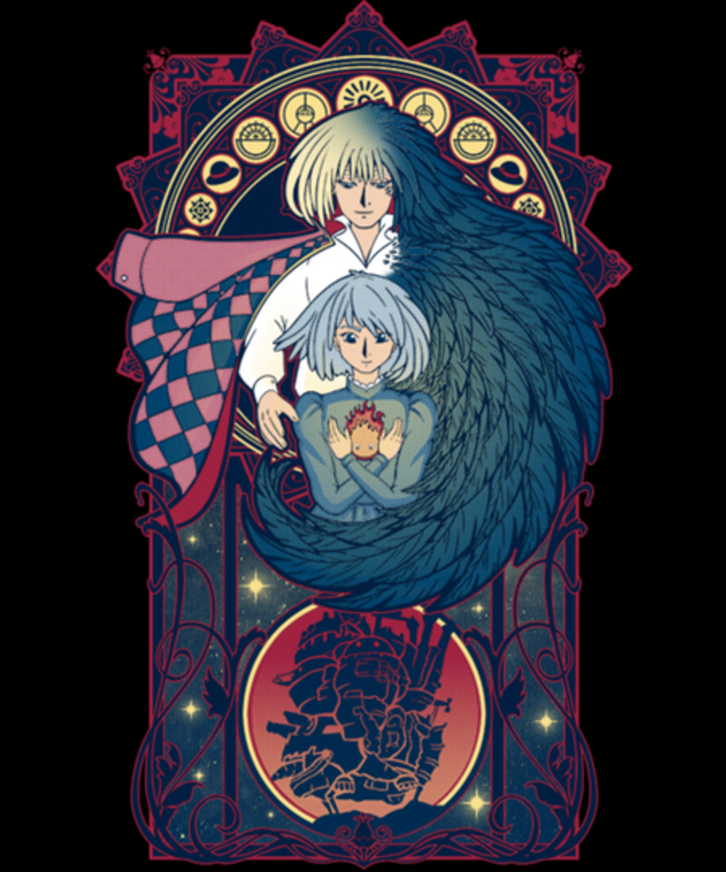 Qwertee: Art of a Moving Castle