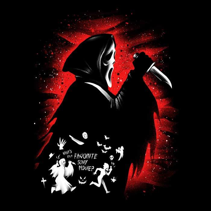 Once Upon a Tee: Ghost Face