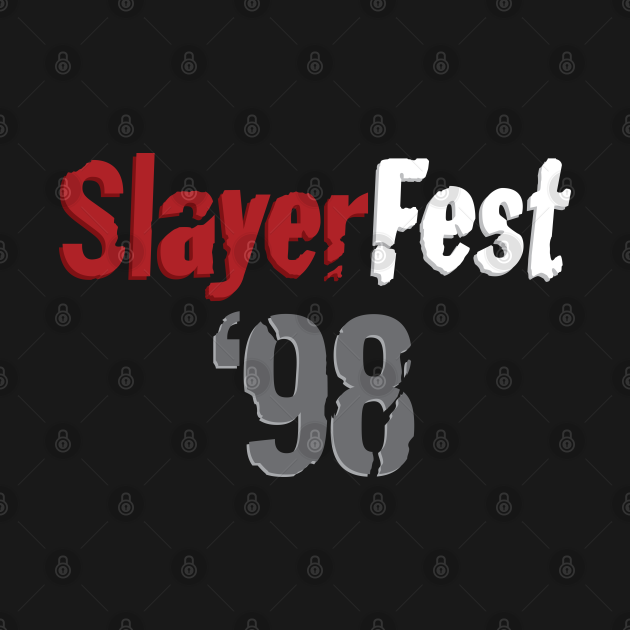 TeePublic: SlayerFest '98
