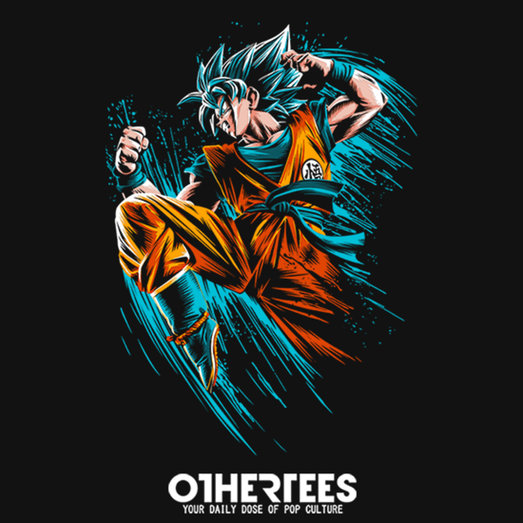 OtherTees: Speed Attack Blue
