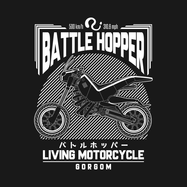 TeePublic: Battle Hopper
