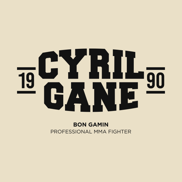 TeePublic: Cyril Gane