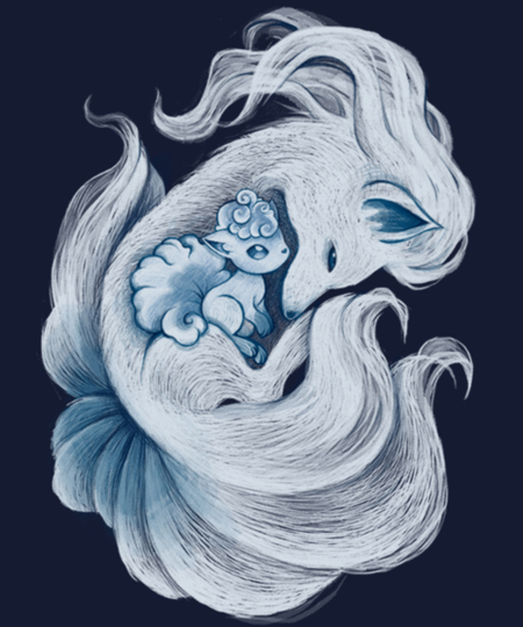 Qwertee: Ice tails tales