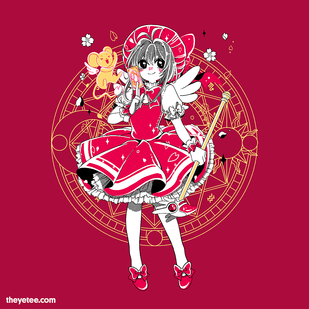 The Yetee: Magical Card Girl