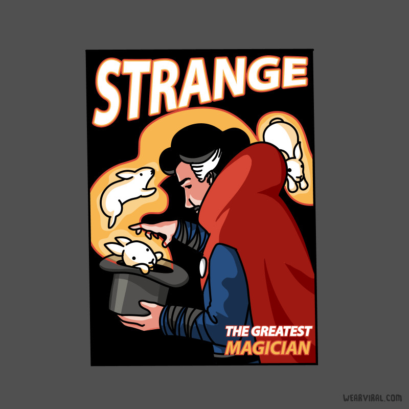 Wear Viral: Strange The Greatest