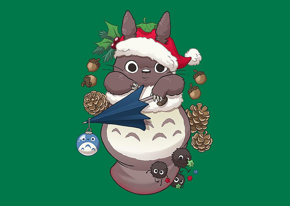TeeFury: Spirited Stocking Stuffer