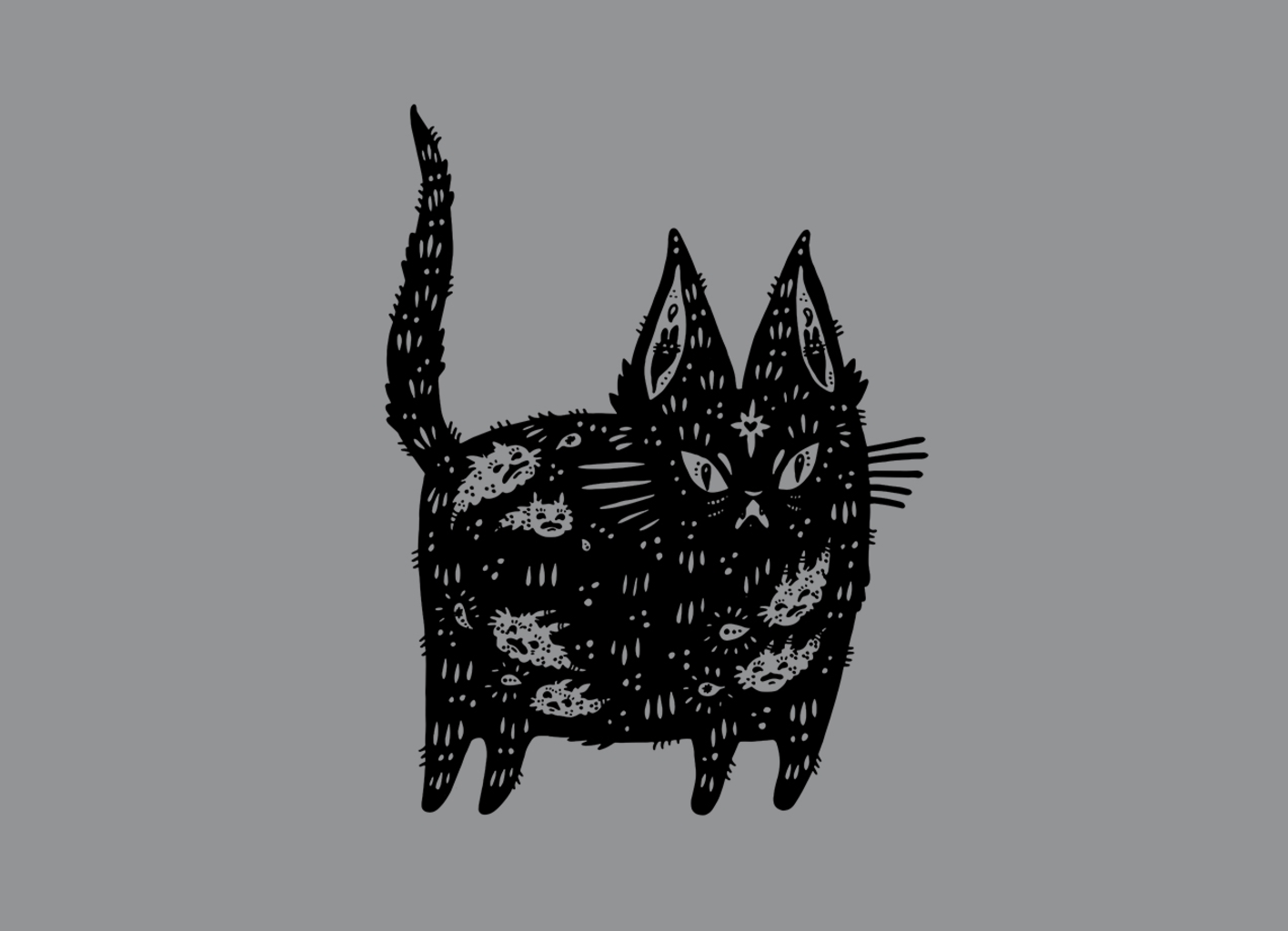 Threadless: Fatty cat