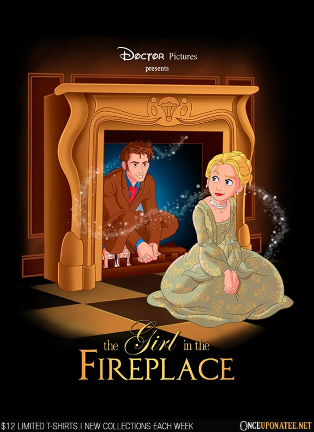 Once Upon a Tee: The Girl in the Fireplace