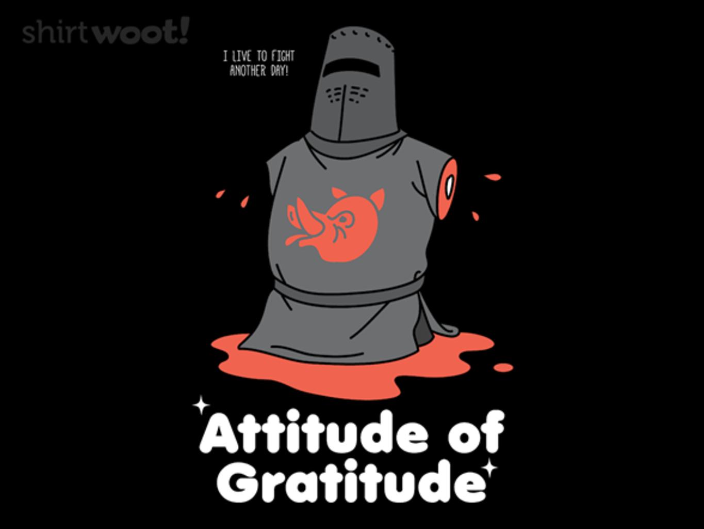 Woot!: Gr-attitude