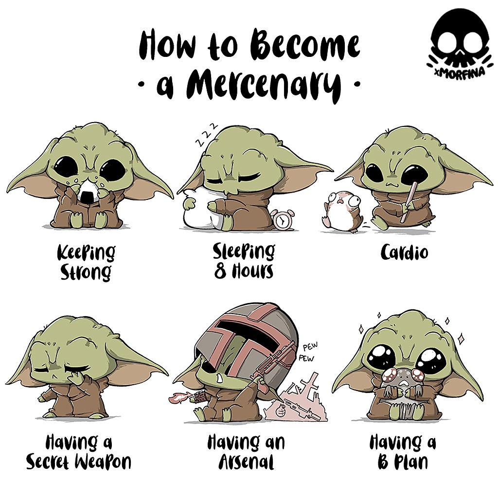TeeTee: Become A Mercenary