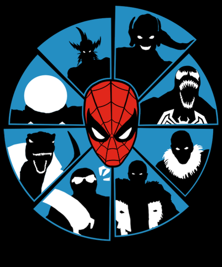 Qwertee: The Spider's Foes